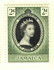 JAMAICA 1953 CORONATION COMPLETE SHEET OF 60 STAMPS MNH