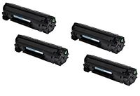 4-Pack/Pk Toner For HP CF279A 79A LaserJet Pro MFP M12a M12w M26a M26nw