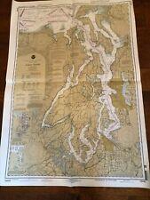 NOAA Nautical Chart 18440 Washington Puget Sound