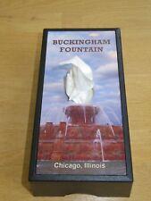 NEW Buckingham Fountain Kleenex Tissue box cover dispenser Chicago souvenir