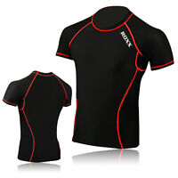 Compression Base layers Mens Boys Body Armour Under Shirt Top Skins ROXX Sports