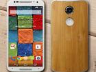 New Motorola Moto X 4G XT1097 2nd Gen 16GB White Dark Bamboo Unlocked Smartphone