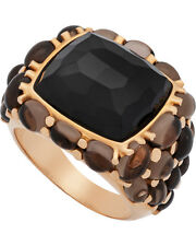 Mimi Milano 18k Rose Gold Agate and Quartz Ring A151RO8F