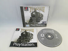 Playstation 1 PS1 PSX - Railroad Tycoon II