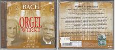 BACH ORGELWERKE BWV 565 564 541 548 545 534 ECC ALBERT SCHWEITZER  CD