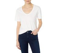 AG Adriano Goldschmied Women's Henson Tee T-Shirt True White Size M 🔥