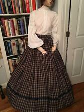 Victorian, Civil War, or Western era ladies' reproduction skirt and blouse