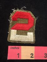 Military 2nd Army Patch 87NG