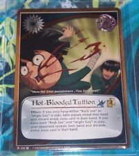 Naruto Approaching Wind TCG CCG Hot-Blooded Tuition 322 Super Rare