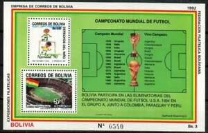 Bolivia Stamp - World Cup Soccer Stamp - NH