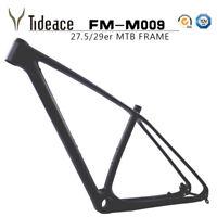 29er Carbon Fibe Toray T800 Mountain Bike Frames UD Black Matte MTB Frameset OEM