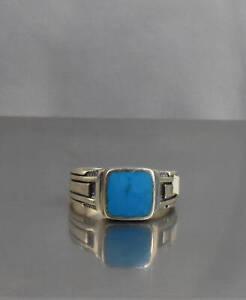 CrazieM Sterling 925 Silver Vintage Southwestern Estate Ring Size 7 3.8g x50