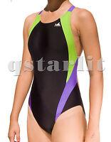 Girls Youth Women Competition Racing Training Bathing Racer Swimwear Size 22 -34