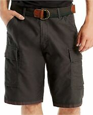 NWT Men/'s Levi/'s Fort Belted Cargo Shorts Carrier Ace Squad All Sizes Army Green