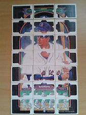 1984 Donruss Complete 63-piece Puzzle - Ted Williams FREE COMBINED SHIPPING