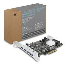 Vantec Dual Chip 4-Port Dedicated 10Gbps USB 3.1 Gen 2 PCIe Host Card
