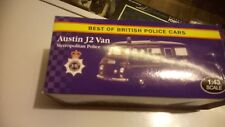 ATLAS BEST OF BRITISH POLICE CARS  AUSTIN J2 VAN METROLITAN POLICE