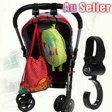 High quality Shopping Bag Clip Carrier Pushchair Baby Stroller Hanger Hooks V3