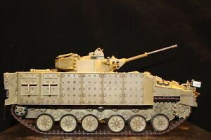 FREE SHIPPING WARRIOR TRACKED VEHICL  BRITISH 1/35 SCALE ASSEMBLED AND PAINTED