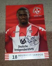 Boubacar Sanogo (1. FC Kaiserslautern 2006/2007) Fehldruck Vorabdruck Bremen HSV