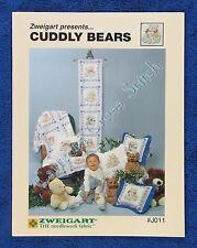 Cross Stitch Pattern Cuddly Teddy Bears Zweigart Afghan Chart Ursula Michael