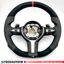 Échange Tuning Volant CUIR BMW F31 F30 F33 F22 F15 X5 X6 F16 Smg!!