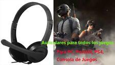 Auricular ParaJuego Con Cable y Micrófono Para PC portátil PS4,Para Todo Juego