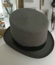 Top Hat And Gloves Grey Size 54 Free Size Gloves