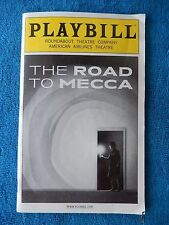 The Road To Mecca - American Airlines Theatre Playbill - January 2012 - Harris