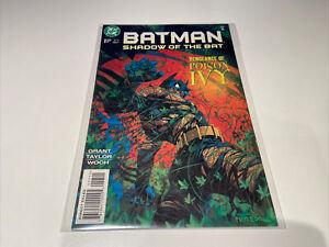 Batman Shadow Of The Bat 57, Vengeance Of Poison Ivy, Dec 1996 NM