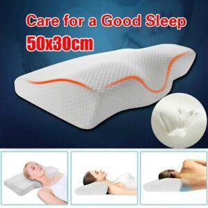 Contour Memory Foam Pillow Neck Pain Anti Snore Side Sleepers,Cervical Contour