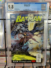 BATMAN #702 (2010) - CGC GRADE 9.8 - JUSTICE LEAGUE OF AMERICA APPEARANCE!