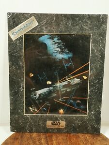 STAR WARS RETURN OF THE JEDI SPECIAL COLLECTOR'S EDITION CHROMART CHROMIUM PRINT