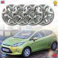 """14 """"POLLICI ruota rifinitura / coperchio set si adatta Ford Fiesta MK6 2008 sulla (Set di 4 pz)"""