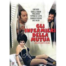 Dvd GLI INFERMIERI DELLA MUTUA - (1969) Lino Banfi /Peppino De Filippo ...NUOVO