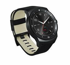 Brand New ORIGINALE LG G Watch R-Nero Smartwatch per Android-LGGW 100r