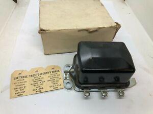 Chevrolet Buick Cadillac 1955-1962 Delco Remy 12V Voltage Regulator 611230 NOS