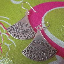 Fine Silver Sterling 925 Earrings Bohemian style Hippie Boho chic Styles Jewelry