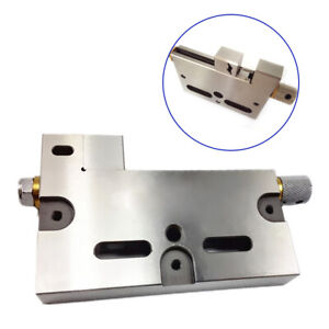 CNC Wire EDM Cut High Precision Vise Stainless 4 inch Jaw Opening 3Kg Clamp OE