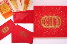 Dior Lucky Red Lunar New Year Envelopes (Set of 8) + 8 Gold Leaf Joss Papers