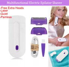 GentleGlide Hair Removal Kit Epilator Body Shaver Laser Painless Rechargeable