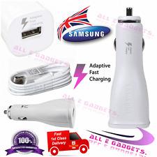 Genuine Samsung 15w Veloce Caricabatteria Da Auto + Cavo per GALAXY s7 s6 EDGE NOTE 4 5