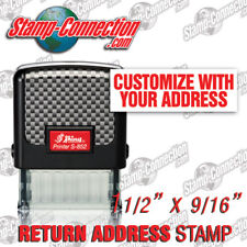 Shiny 852 Return Address Stamp - 3 Line Self-Inking (Ideal 50 or 4911 Size)