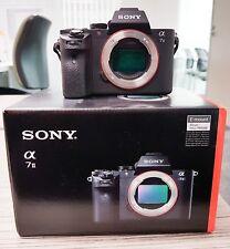 Sony  Alpha A7 II 24.3 MP Digital Camera - Black (Body Only) - first class cond.