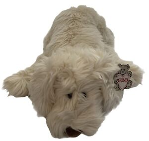 """VINTAGE GUND HUGGABILITY-TROUBLE PUPPY DOG-22""""-#1353-1991 NWT"""
