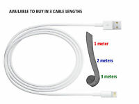 3 PACK APPLE LIGHTING SYNC & CHARGER USB DATA CABLE FOR iPHONE 7 6 5 IPOD IPAD