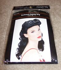 New Adult Burlesque Beauty Wig Costume Dress Up Party