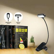 USB Flexible LED Desk Lamp Clip-ON Study Reading Table Lamp Home Office Light