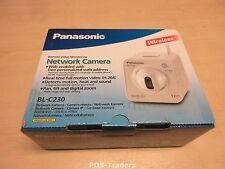 PANASONIC BL-C230 Pan-tilt Wireless Network Security CCTV Camera INDOOR NEW NEU