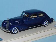 TSM 1/43 1936 Cadillac Series 90 V16 Fleetwood Aerodynamic Coupe Blue MiB